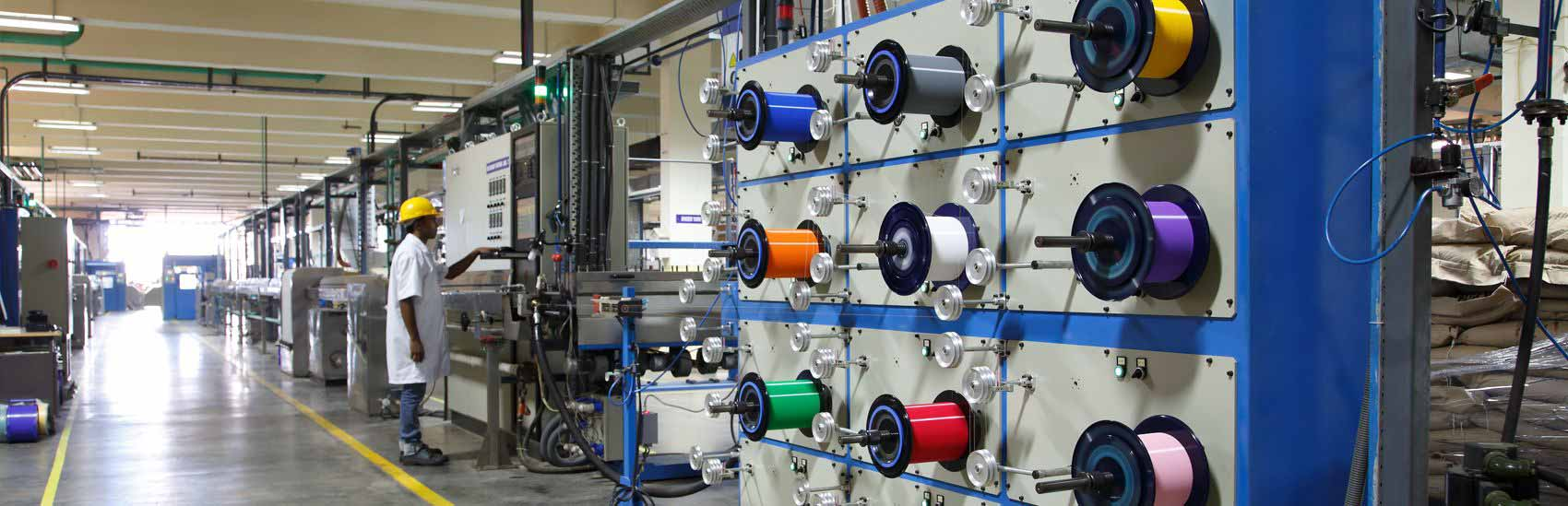 Optical Fiber Cables Manufacturing Unit